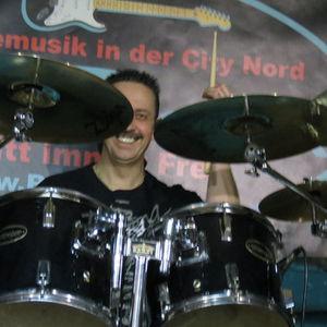 manfred an den drums